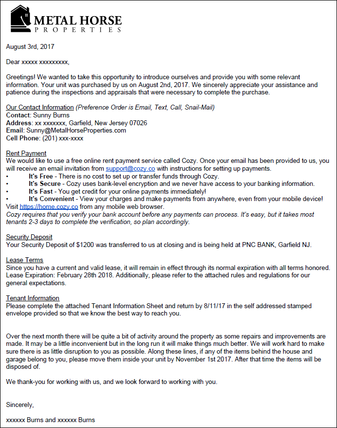 New Landlord Introduction Letter To Tenant from www.famvestor.com